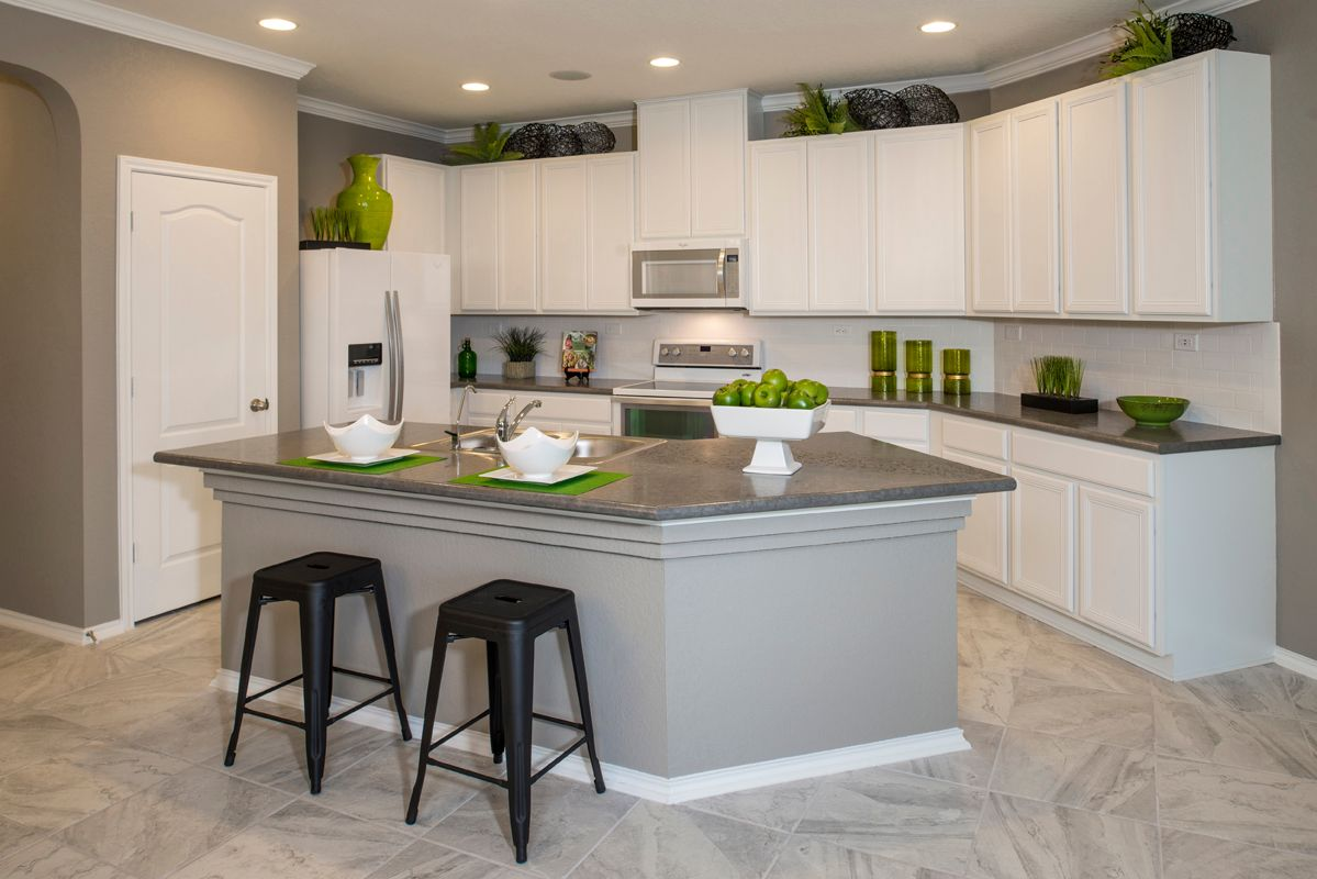 Kitchen-in-Plan 1585-at-West Village at Creekside - Heritage Collection-in-New Braunfels