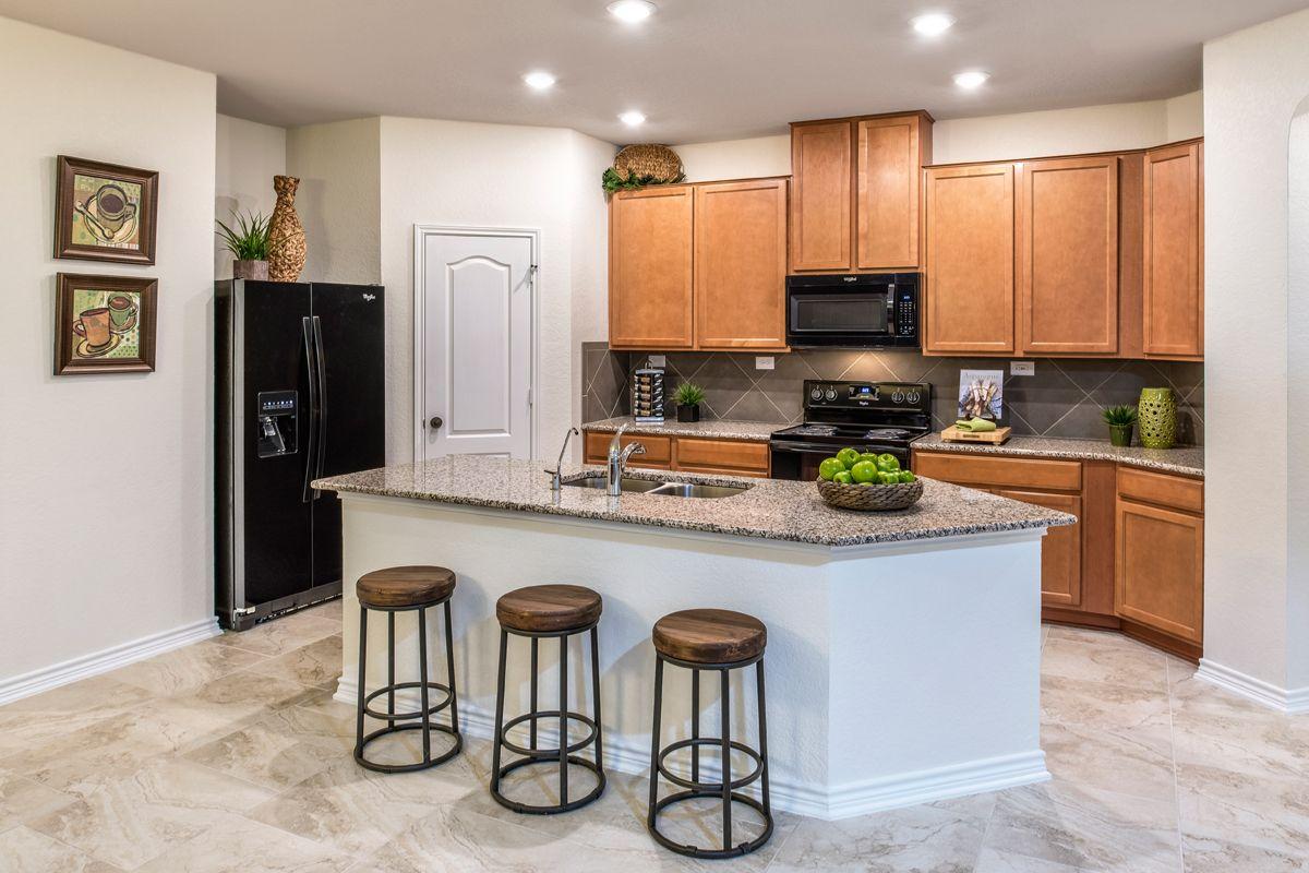 Kitchen-in-Plan 1694 Modeled-at-Falcon Landing-in-San Antonio