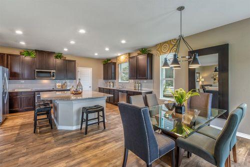 Kitchen-in-Plan 2898 Modeled-at-Falcon Landing-in-San Antonio