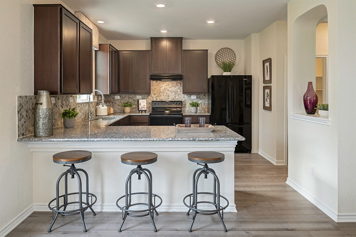 Kitchen-in-Plan 2088-at-CrossCreek - Sterling and Heritage Collections-in-San Antonio