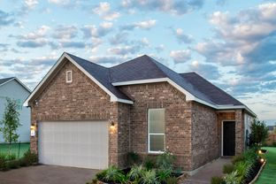 Plan 1694 - Knox Ridge: Converse, Texas - KB Home