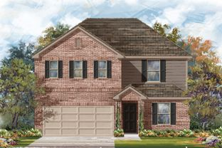 Plan 2403 - Knox Ridge: Converse, Texas - KB Home