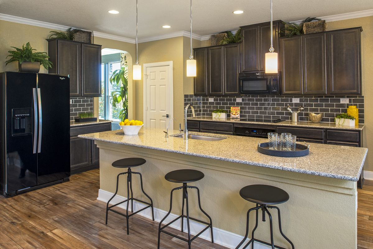 Kitchen featured in the Plan 3023 Modeled By KB Home in San Antonio, TX