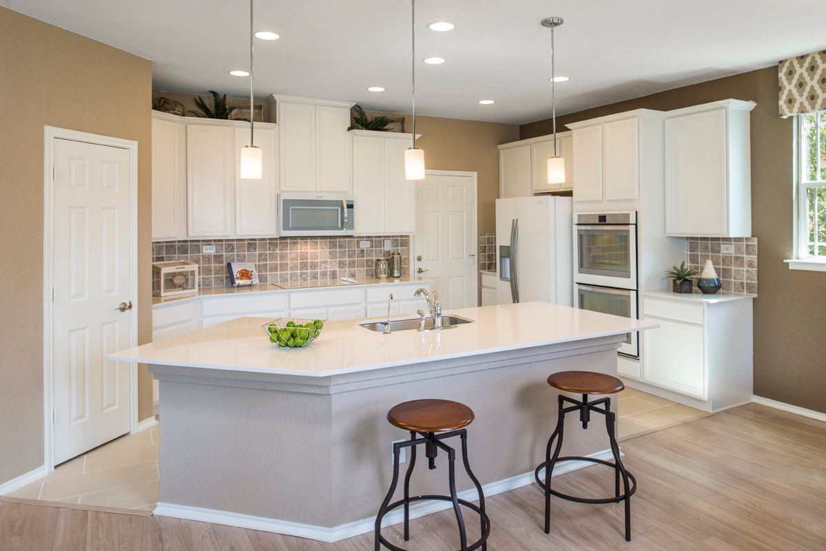 Kitchen featured in the Plan 2403 Modeled By KB Home in San Antonio, TX
