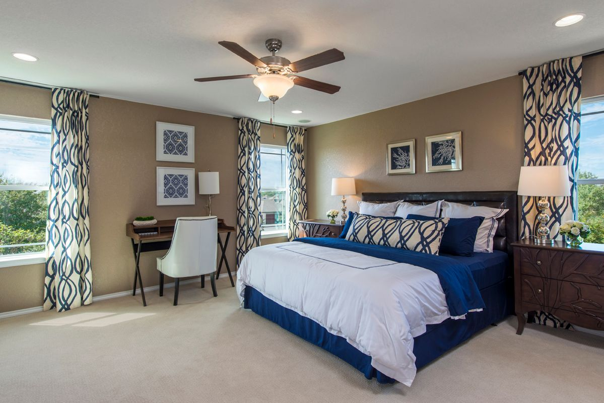Bedroom featured in the Plan 2403 Modeled By KB Home in San Antonio, TX