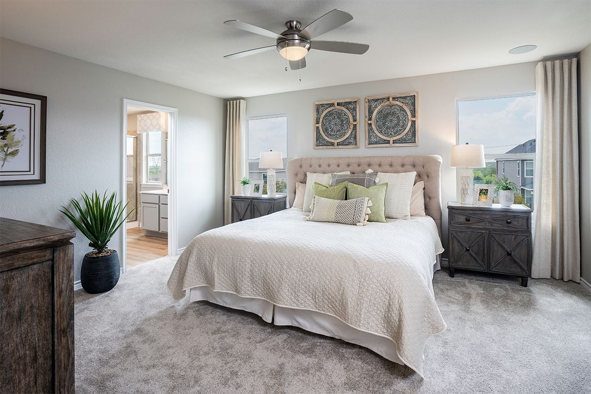 Bedroom featured in the Plan 1780 By KB Home in San Antonio, TX