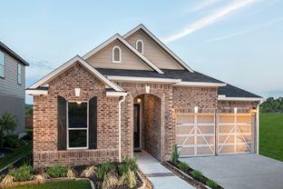 Plan 2004 Modeled - Hidden Bluffs at TRP: San Antonio, Texas - KB Home