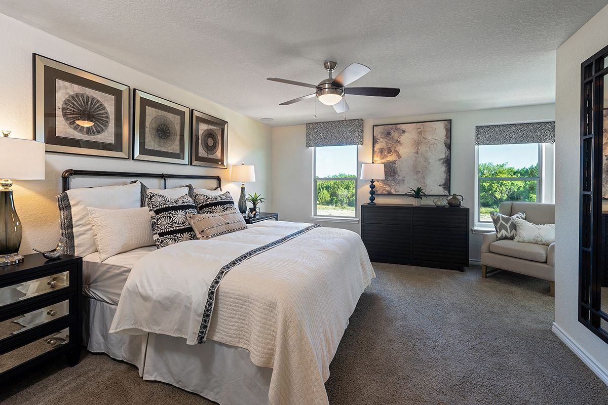 Bedroom featured in the Plan 1909 By KB Home in San Antonio, TX