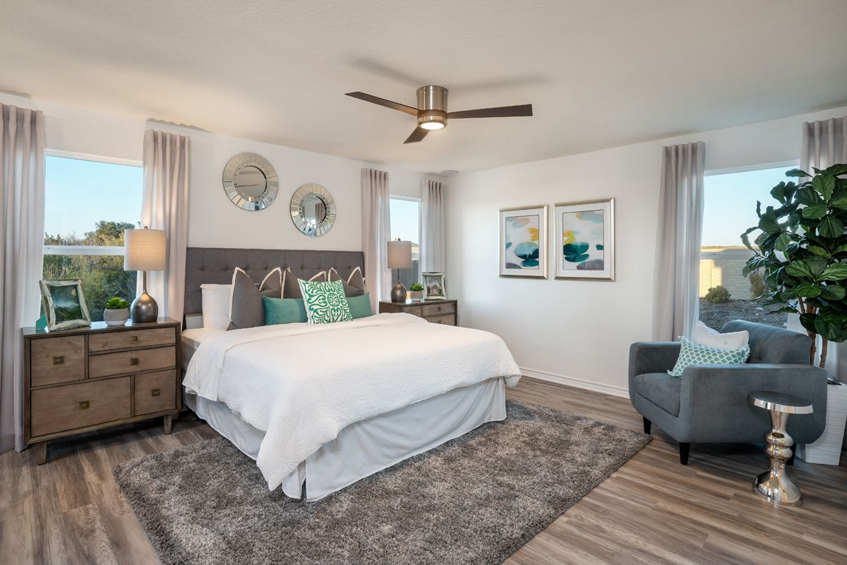 Bedroom featured in the Plan 1694 Modeled By KB Home in San Antonio, TX