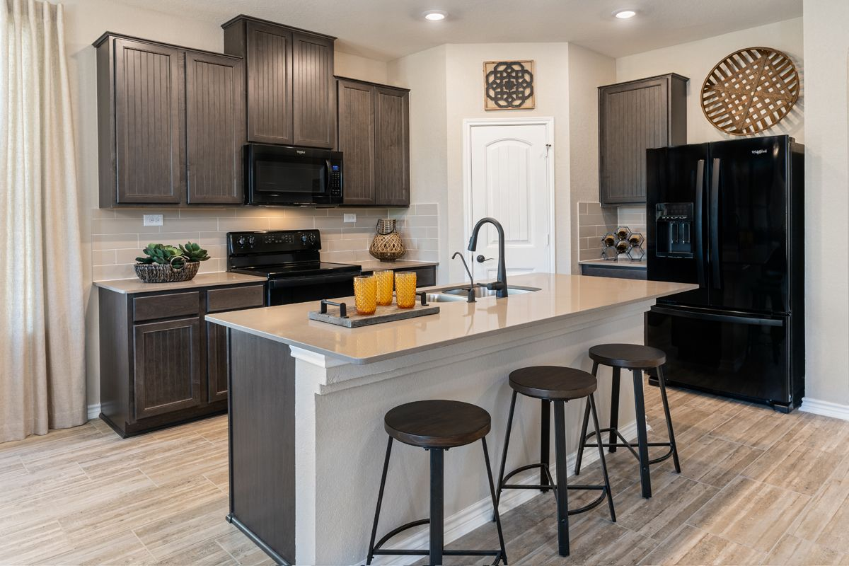 Kitchen featured in the Plan 2700 Modeled By KB Home in San Antonio, TX