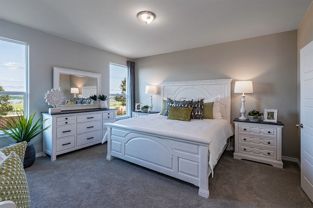 Bedroom featured in the Plan 1516 By KB Home in San Antonio, TX