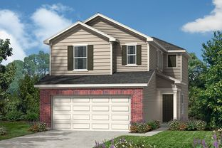 Plan 1373 - The Garrison: San Antonio, Texas - KB Home