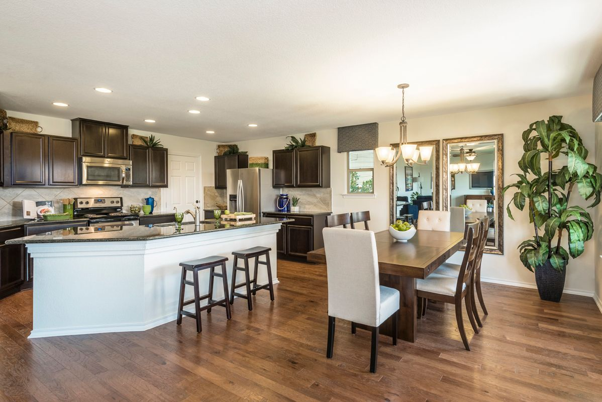 Kitchen featured in the Plan 2403 By KB Home in San Antonio, TX