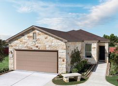 Plan 1548 - Willow View: Converse, Texas - KB Home