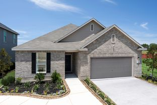 Plan 1675 - Saddle Creek: Cibolo, Texas - KB Home