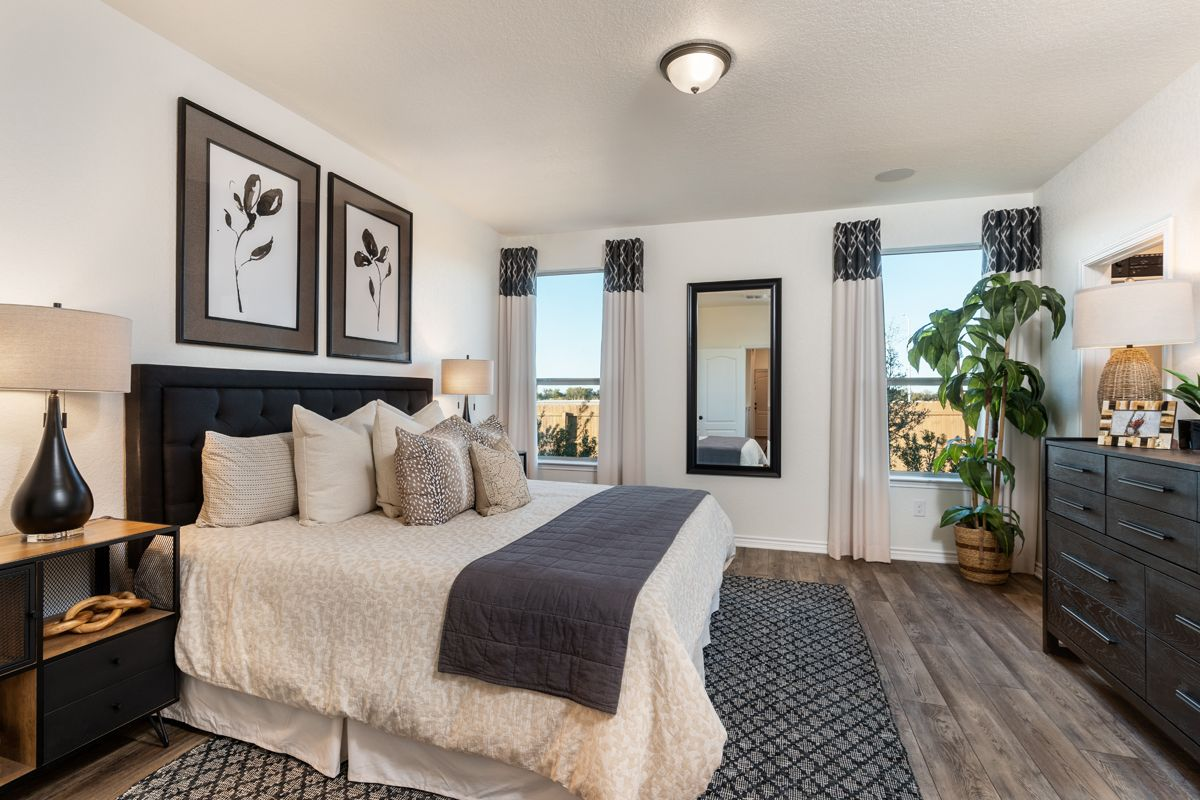 Bedroom featured in the Plan 1516 Modeled By KB Home in San Antonio, TX