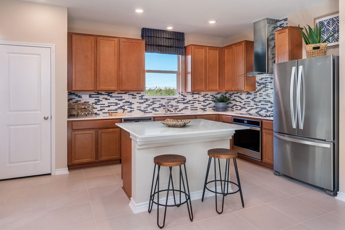 Kitchen featured in the Plan 2080 Modeled By KB Home in San Antonio, TX