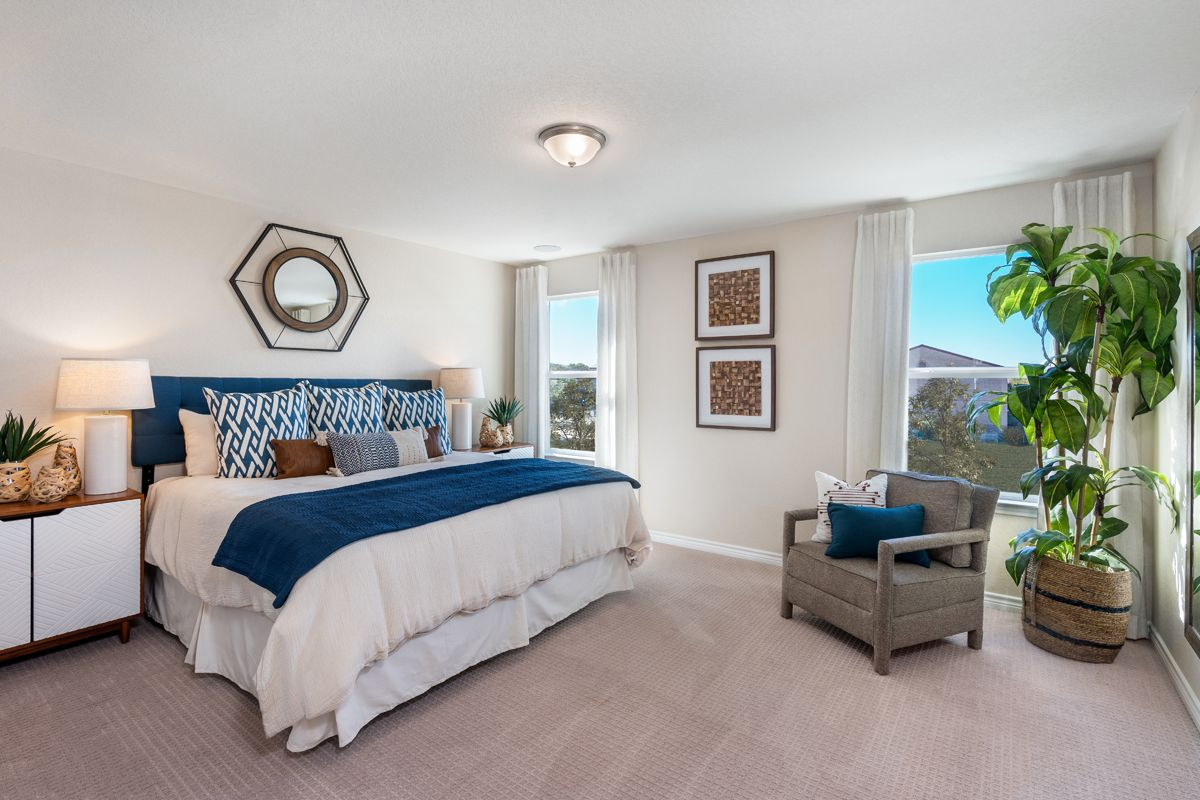 Bedroom featured in the Plan 2080 Modeled By KB Home in San Antonio, TX