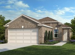 Plan 1242 - Parklands: Schertz, Texas - KB Home