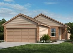 Plan 1360 - Willow View: Converse, Texas - KB Home