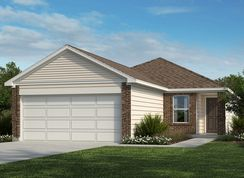 Plan 1377 - Willow View: Converse, Texas - KB Home