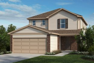 Plan 2509 - Willow View: Converse, Texas - KB Home