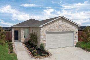 Plan 1377 - The Overlook at Medio Creek: San Antonio, Texas - KB Home