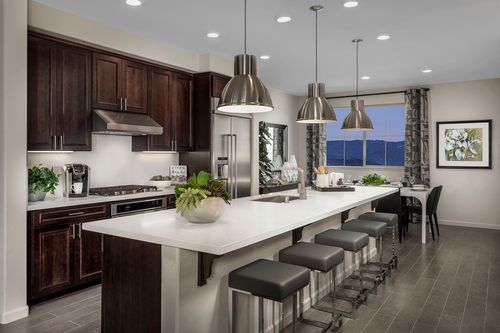 Kitchen-in-Plan 4-at-Metro II at Communications Hill-in-San Jose