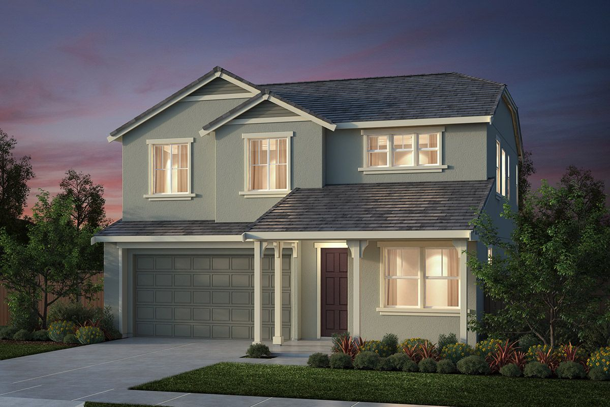Exterior featured in the Plan 2 Modeled By KB Home in Salinas, CA