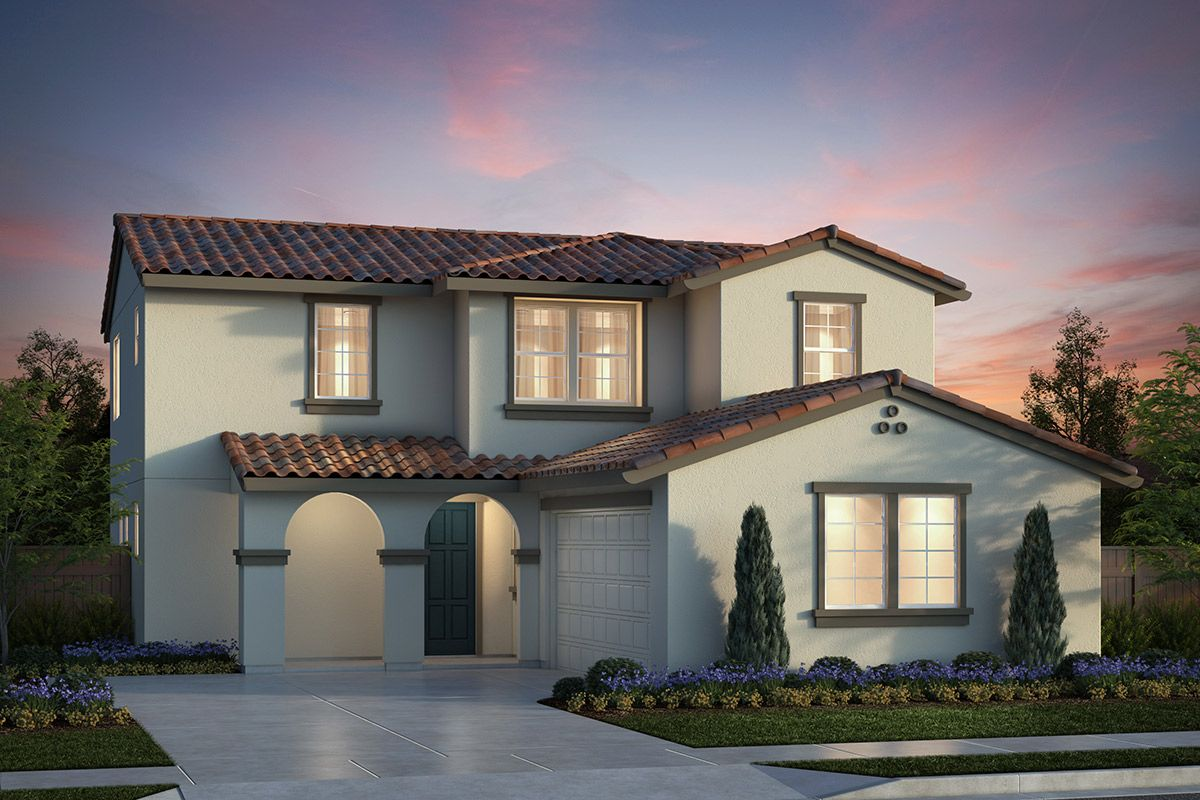 Exterior featured in the Plan 3 Modeled By KB Home in Salinas, CA