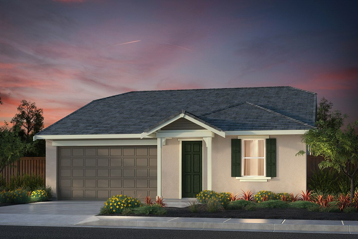 Exterior featured in the Plan 2 Modeled By KB Home in Santa Cruz, CA