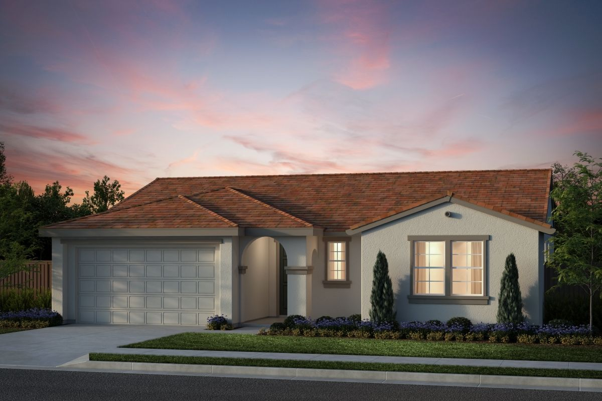 Exterior featured in the Plan 6 By KB Home in Salinas, CA