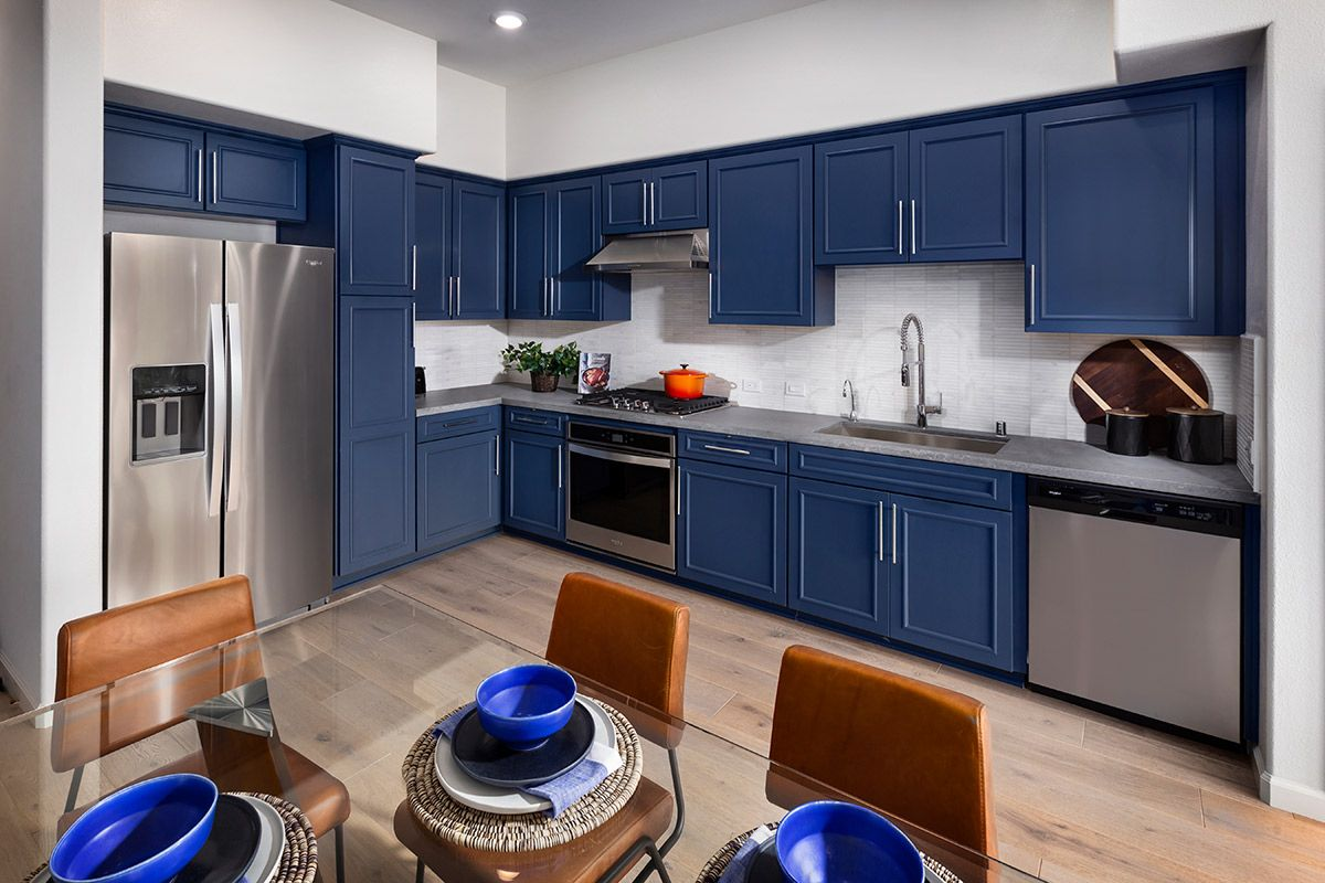Kitchen featured in the Plan 2 Modeled By KB Home in San Jose, CA