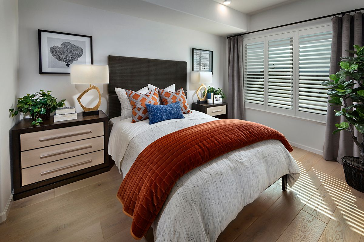 Bedroom featured in the Plan 2 Modeled By KB Home in San Jose, CA
