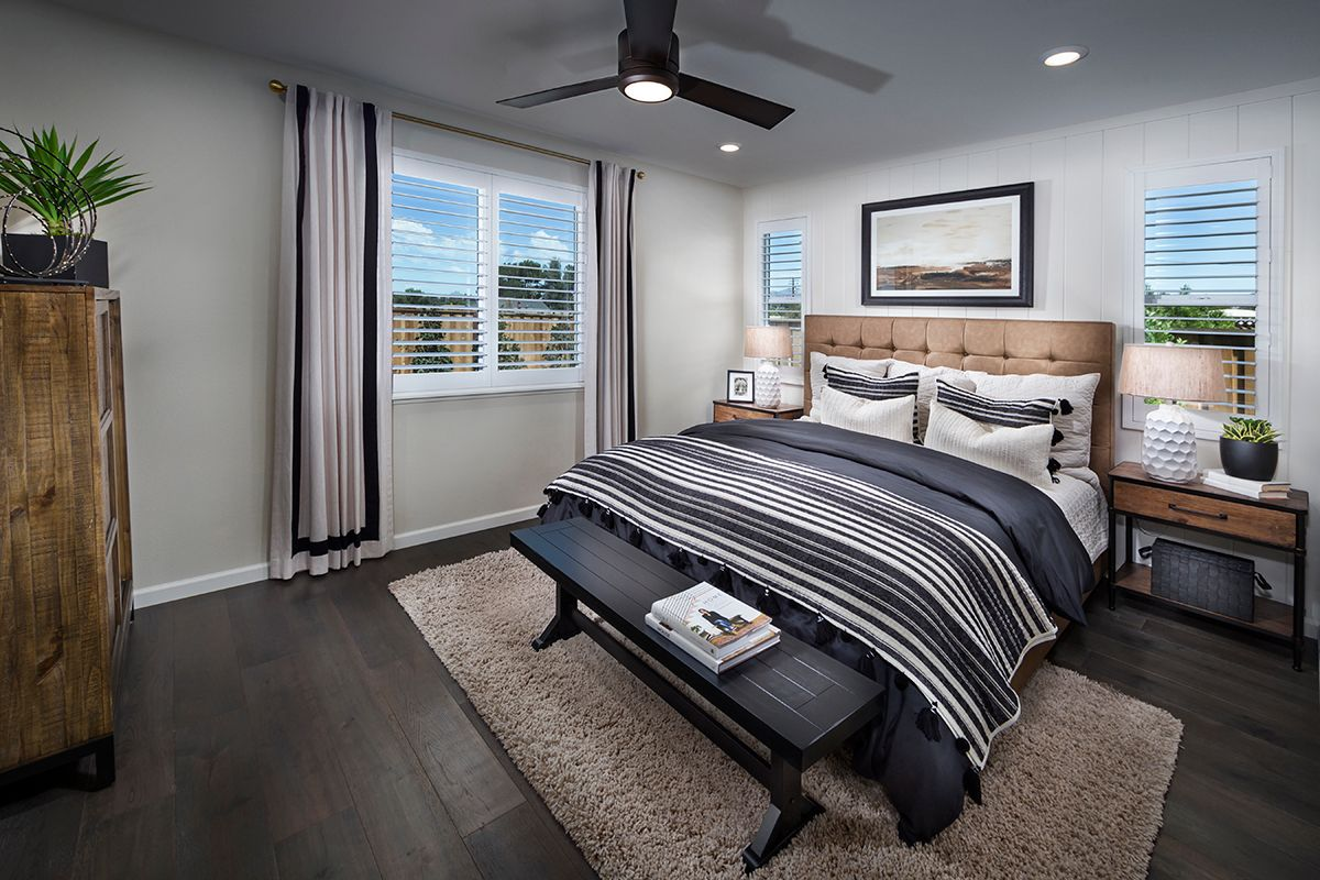 Bedroom featured in the Plan 2 Modeled By KB Home in Santa Cruz, CA