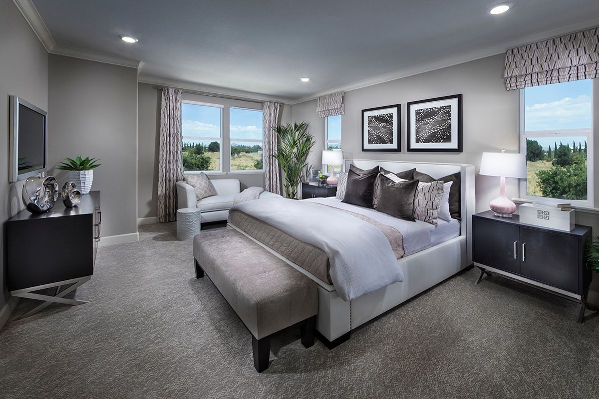 Bedroom featured in the Plan 5 Modeled By KB Home in Santa Cruz, CA