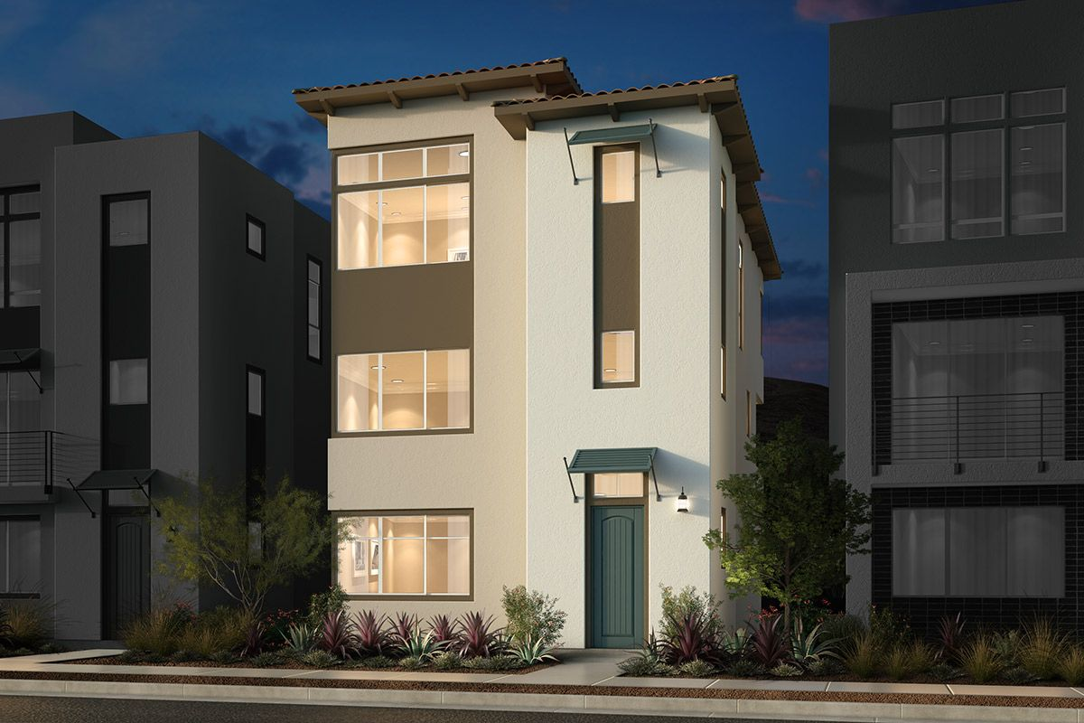 Exterior featured in the Plan 2170 Modeled By KB Home in San Jose, CA