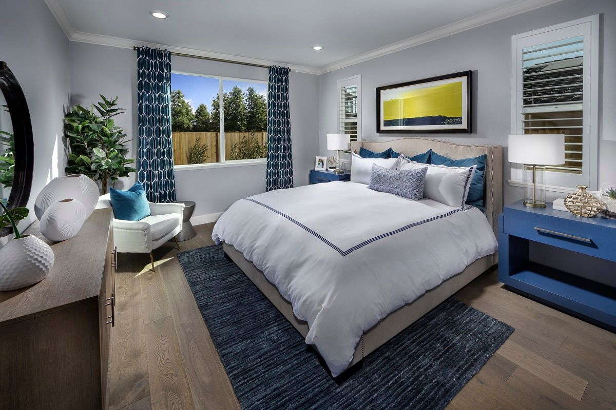 Bedroom featured in the Plan 2209 Modeled By KB Home in Santa Cruz, CA