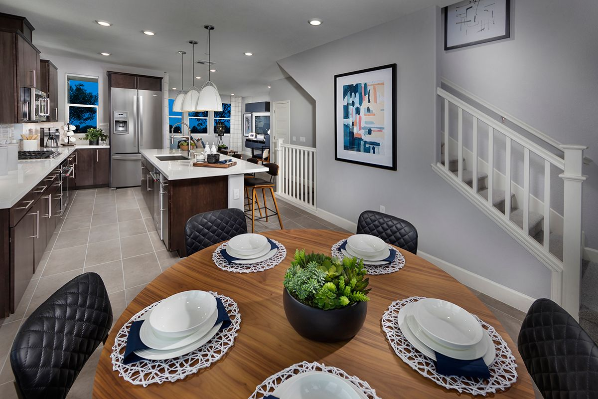 Kitchen featured in the Plan 1631 Modeled By KB Home in San Jose, CA