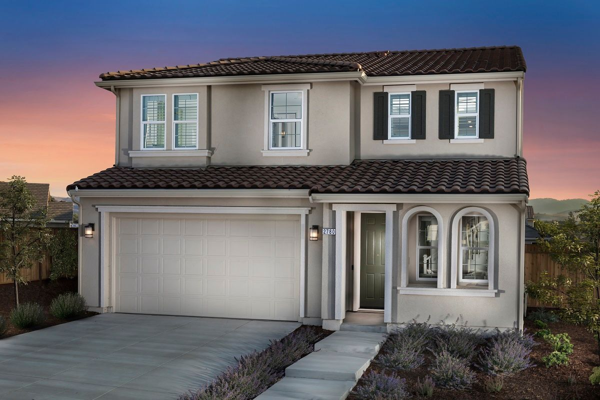 Exterior featured in the Plan 2775 Modeled By KB Home in Santa Cruz, CA