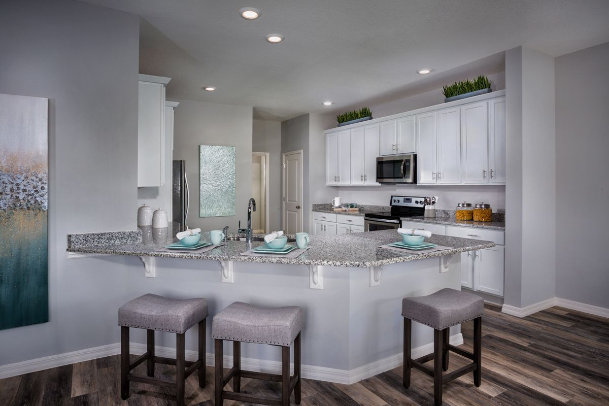 Kitchen-in-Plan 2544 Modeled-at-Northgate-in-Gibsonton