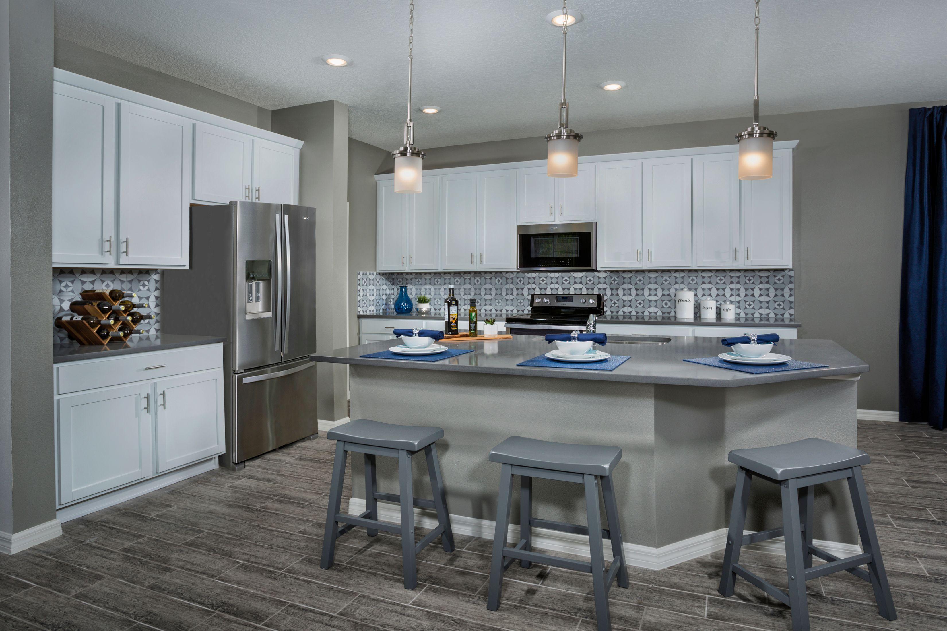 Kitchen-in-2851 Modeled-at-Artisan Estates-in-Seminole