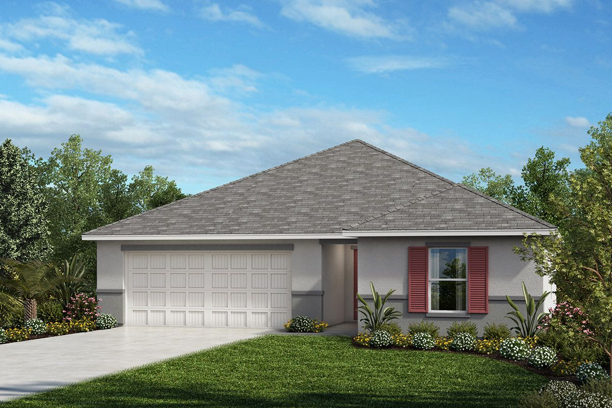 Exterior featured in the Plan 1541 Modeled By KB Home in Tampa-St. Petersburg, FL