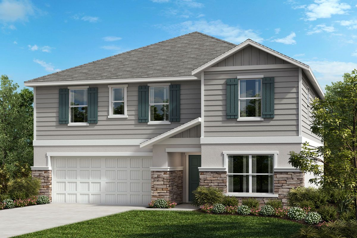 Exterior featured in the Plan 3016 By KB Home in Tampa-St. Petersburg, FL