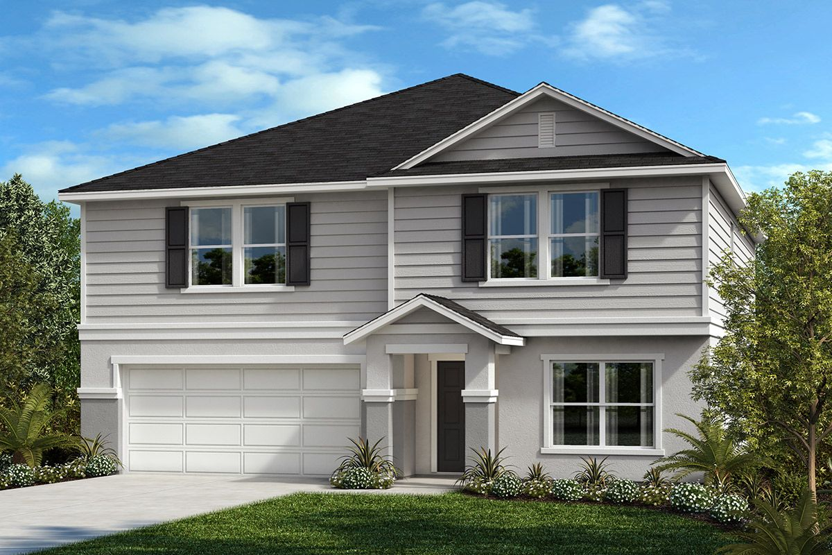 Exterior featured in the Plan 2716 By KB Home in Tampa-St. Petersburg, FL