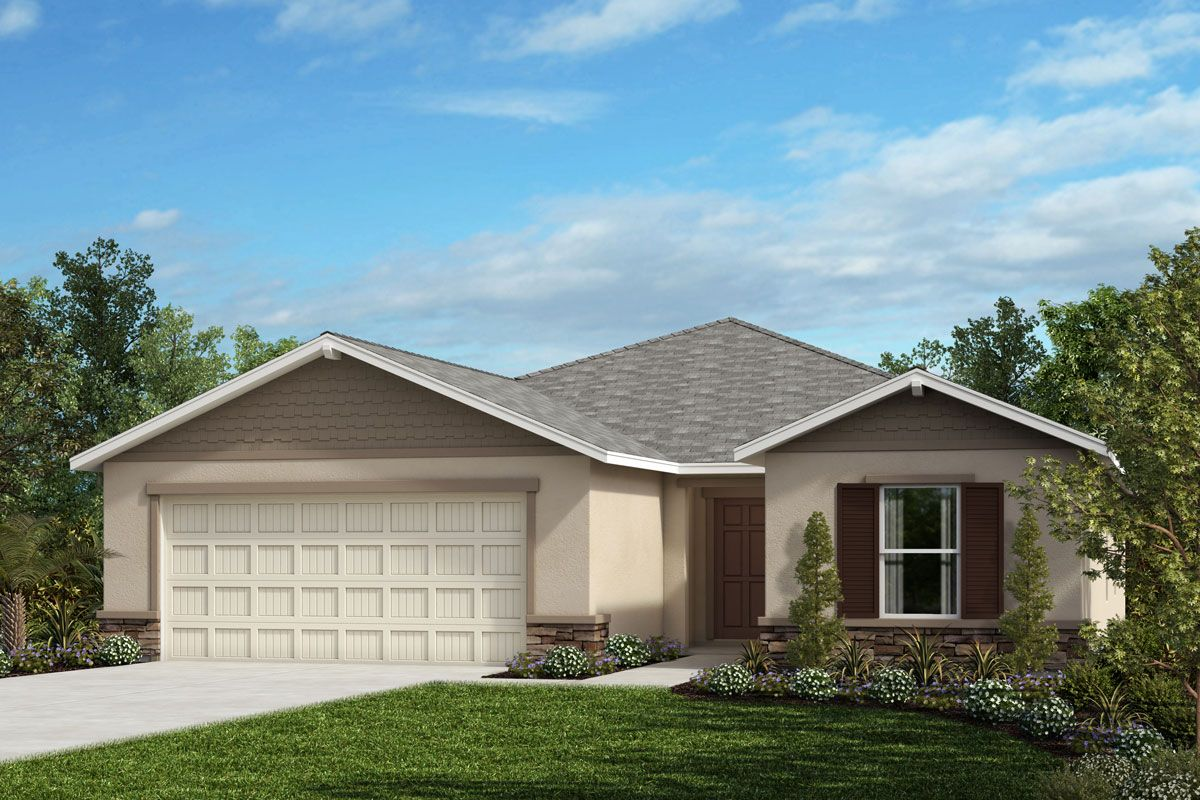 Exterior featured in the Plan 1865 By KB Home in Sarasota-Bradenton, FL