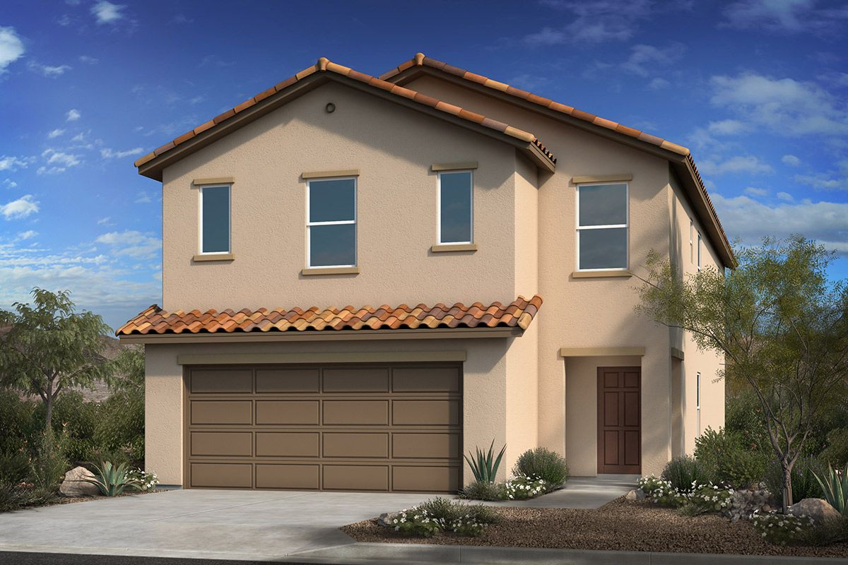 Exterior featured in the Plan 2685 Modeled By KB Home in Tucson, AZ