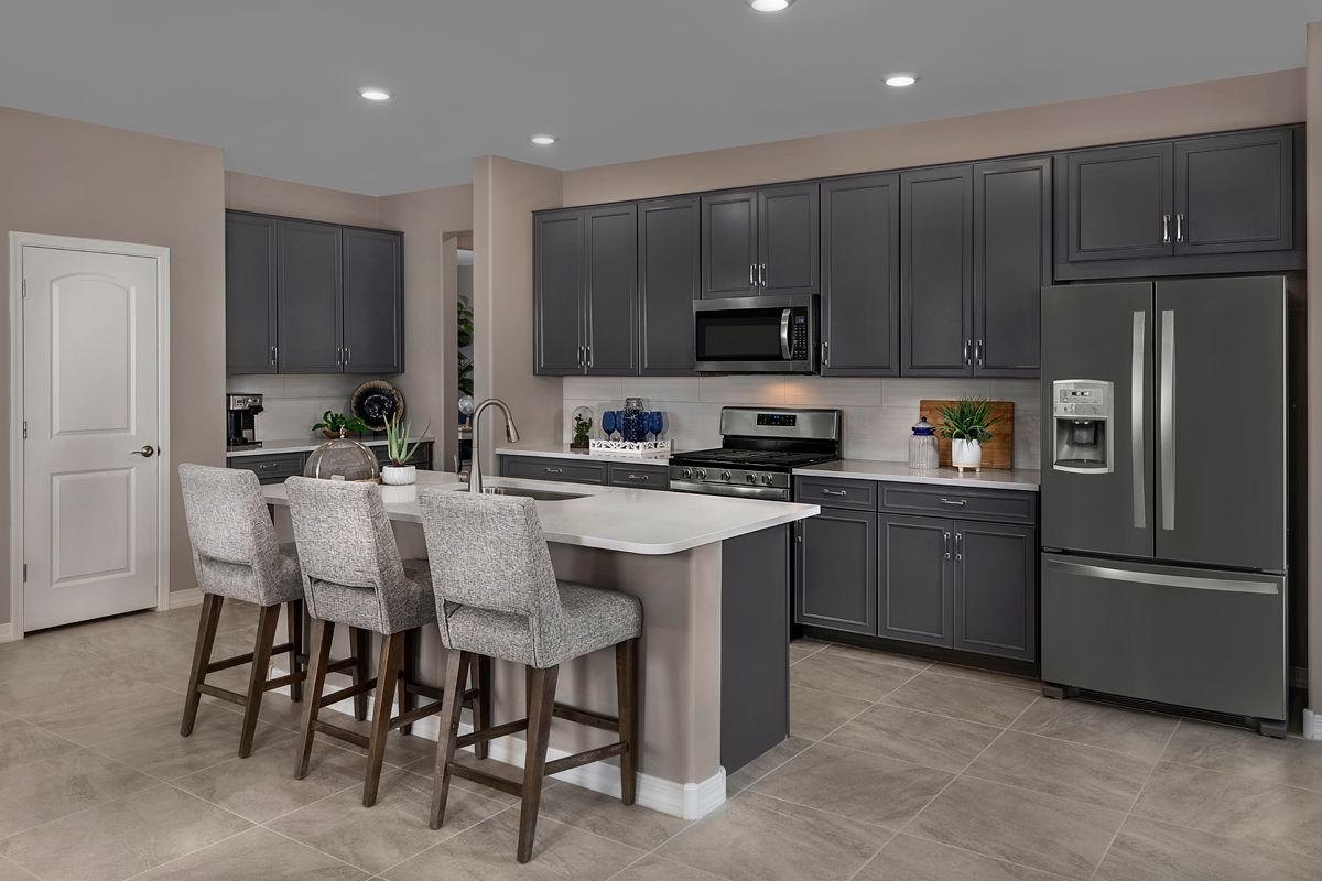 Kitchen featured in the Plan 2013 Modeled By KB Home in Tucson, AZ