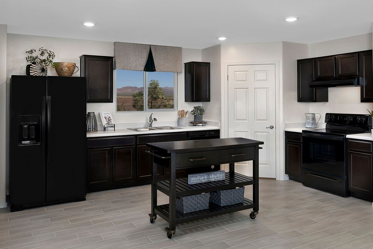Kitchen featured in the Plan 1465 By KB Home in Tucson, AZ