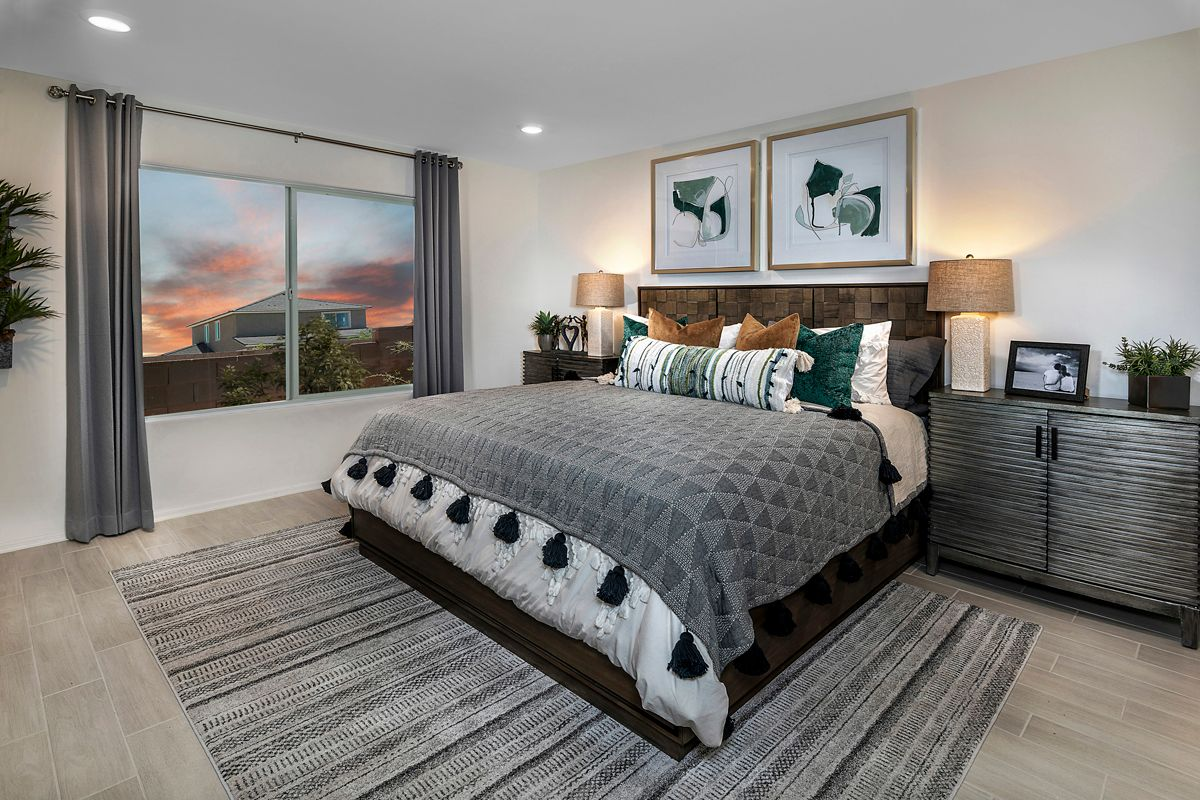 Bedroom featured in the Plan 1465 Modeled By KB Home in Tucson, AZ